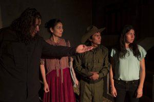 Una imagen de la puesta en escena de la obra L.O.V.E.