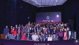 Foto de los participantes del evento.