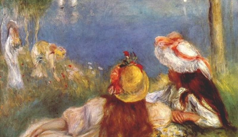 F ÚNICA Pierre-auguste-Renoir-Girls-on-the-seashore