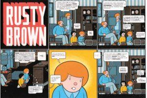 1. RUSTY BROWN comic_chrisware_283-4