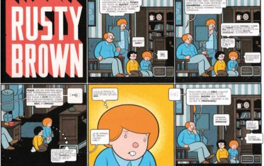 1. RUSTY BROWN comic_chrisware_283-4