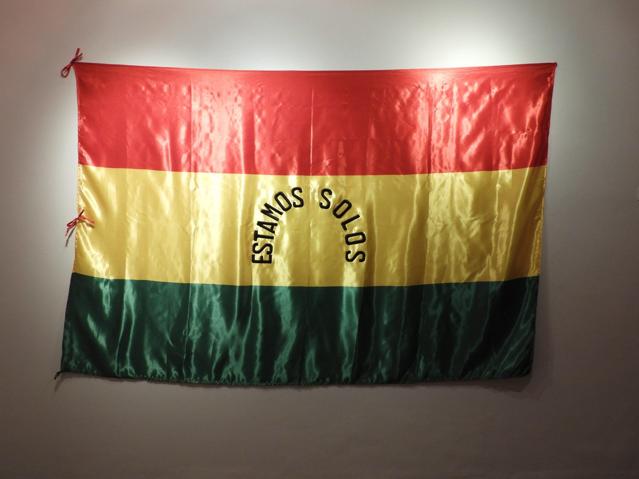 Una de las obras en exposición
