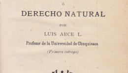 Portada del libro Elementos de Filosofía del Derecho o Derecho Natural.