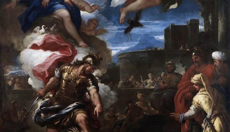 F2 Luca Giordano-Turno vencido por Eneas