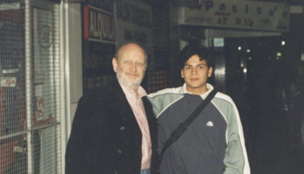 marcos y yo (abril 2002)