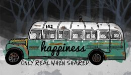 bus into the wild dibujo