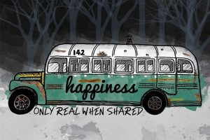 bus into the wild dibujo