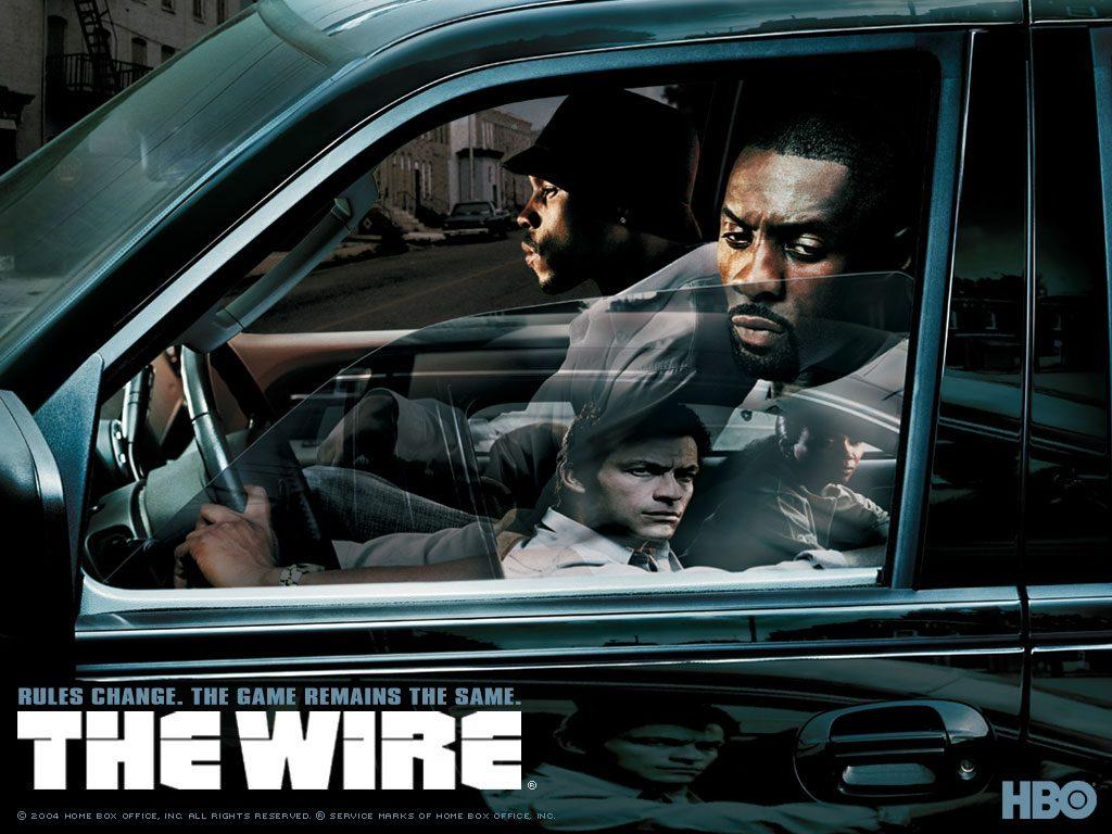 the wire afiche horizontal