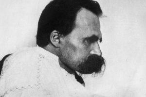 El filósofo alemán Friedrich Nietzsche.