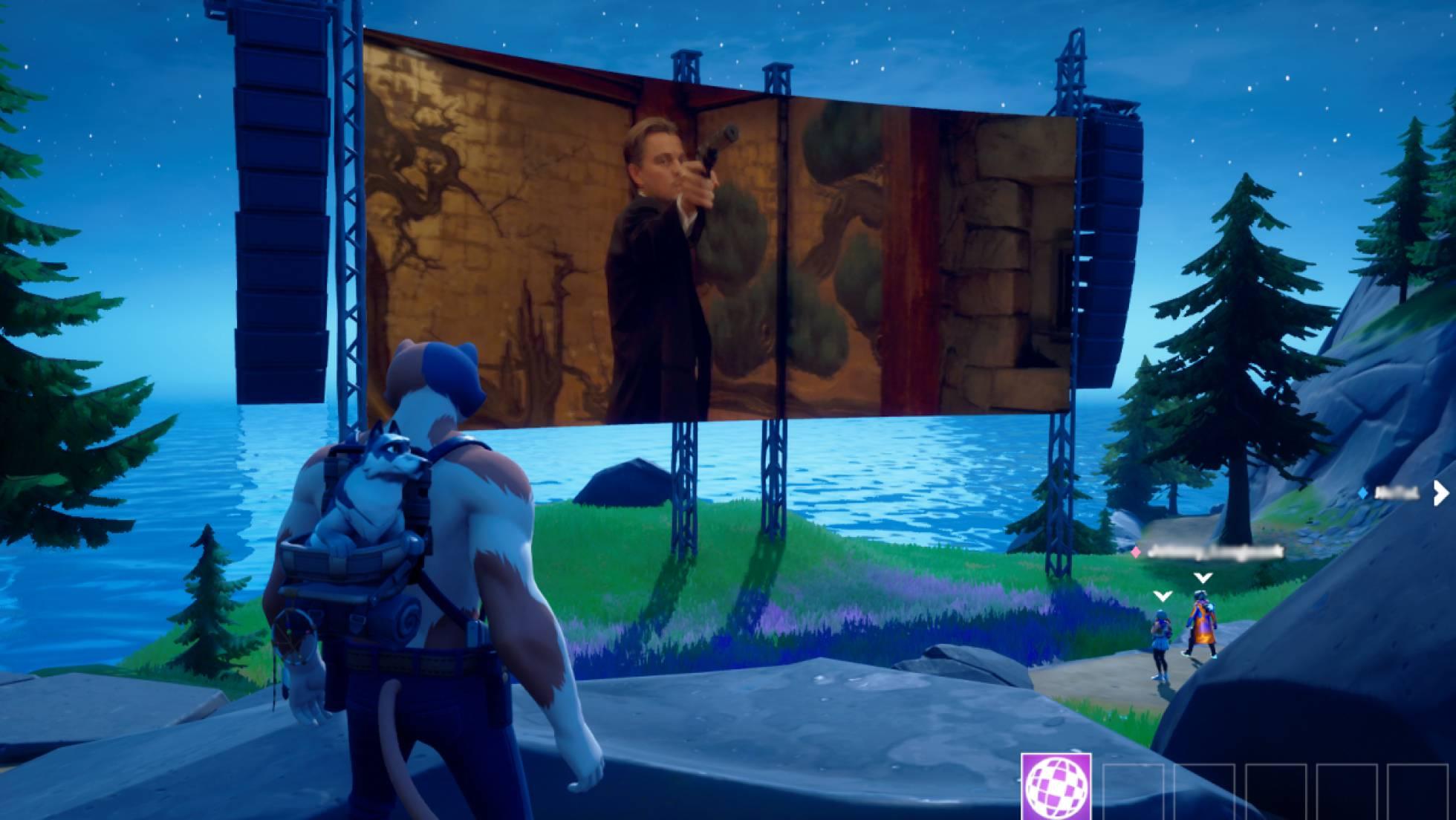 Una captura del videojuego 'Fortnite'.