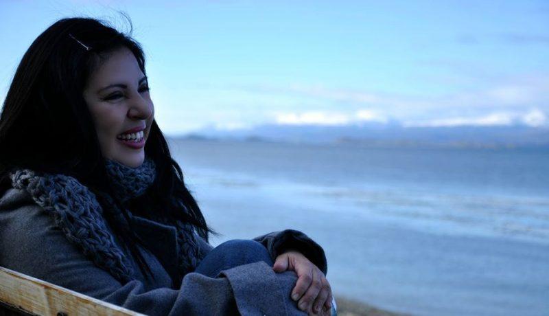Giovanna Rivero en Ushuaia