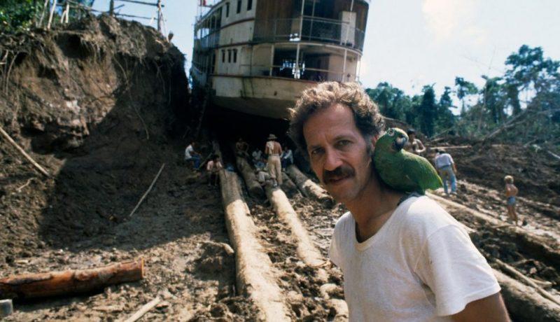 Werner Herzog durante el rodaje de 'Fitzcarraldo' en Peru. //GETTY