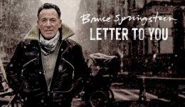 F UNICA Portada del más reciente álbum de Bruce Springsteen.