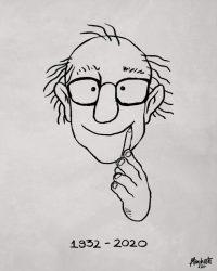 """A Quino, le debo mi primer contacto con el cómic y las historietas, el humor gráfico, hasta la ilustración. Una pena no haberlo conocido en persona, pero lo conocí a través de su trabajo: como Mafalda y sus cómics súper creativos que mostraban su visión de la vida. """"GRACIAS POR SIEMPRE DIBUJARME UNA SONRISA""""."""