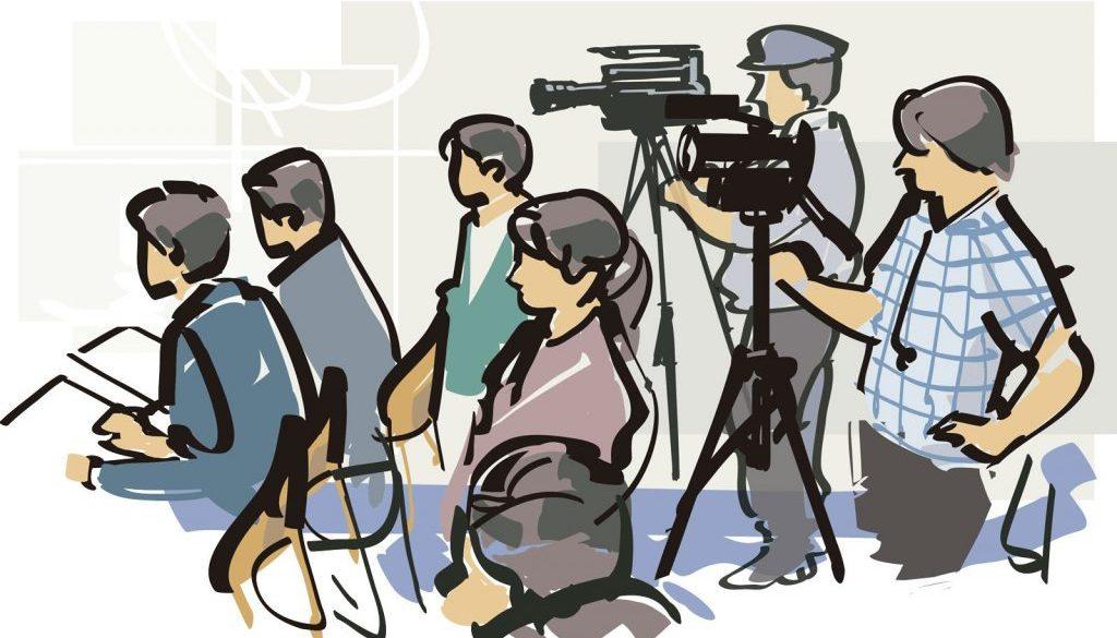 periodistas ilustracion