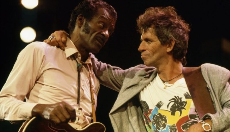 Keith Richards y Chuck
