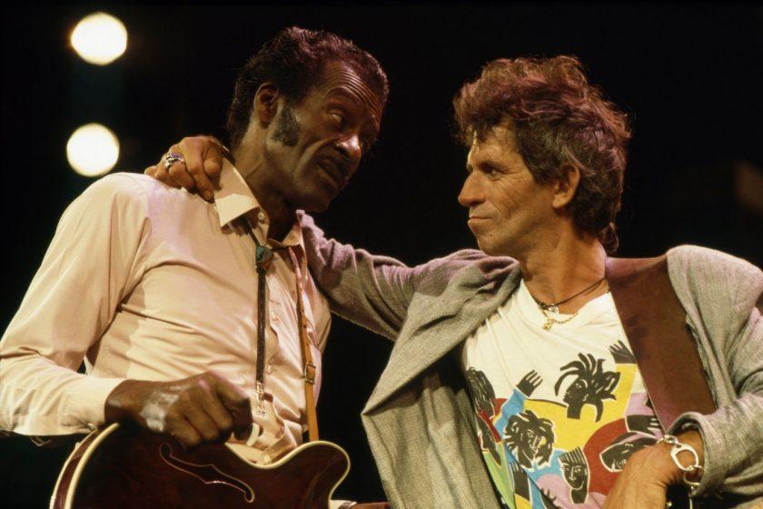 Keith Richards y Chuck