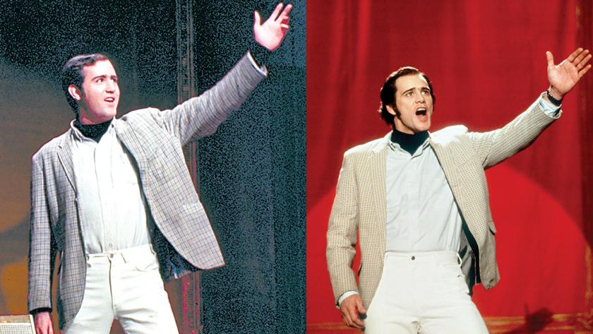 Jim Carrey y Andy Kaufman
