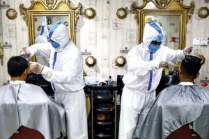 Pandemia peluqueros