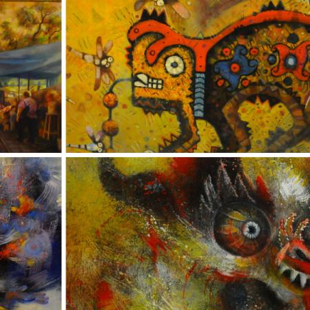 Ancestralismo, paisaje y expresionismo valluno: muestra junta las escuelas qhochalas