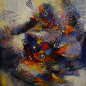 Obra de Leonardo Aliaga.