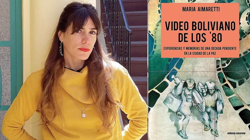 Maria Aimaretti y libro