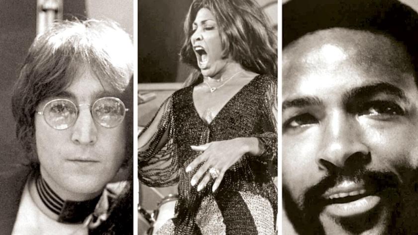 Lennon, Tina y Marvin 1971