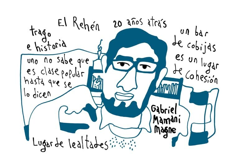 Gabriel Mamani dibujo