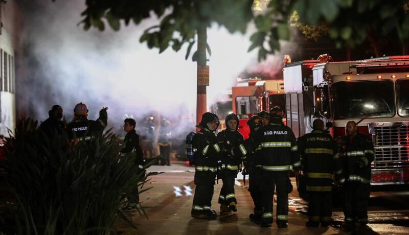 Cinemateca Brasil incendio
