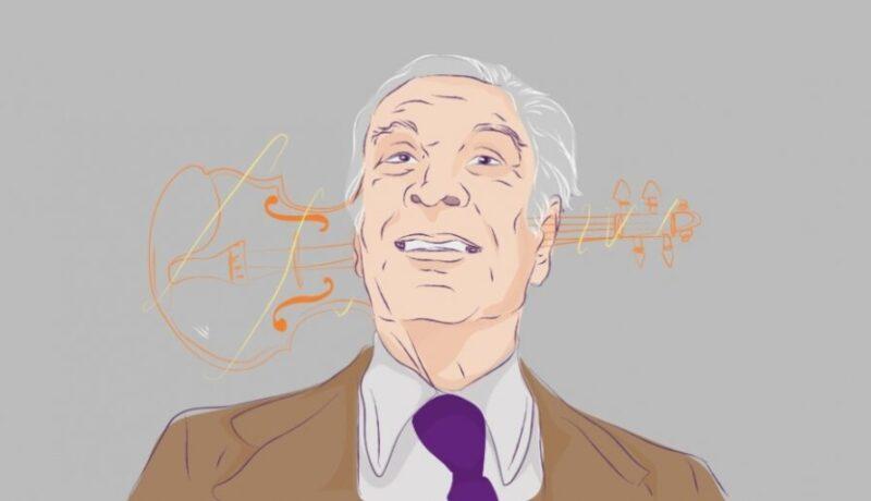 Borges dibujo Centro Gabo