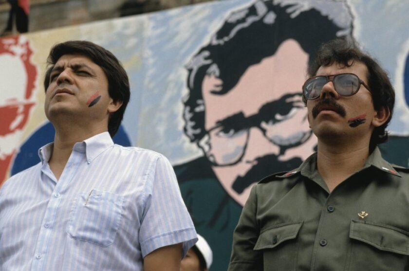 Sergio Ramirez y Daniel Ortega