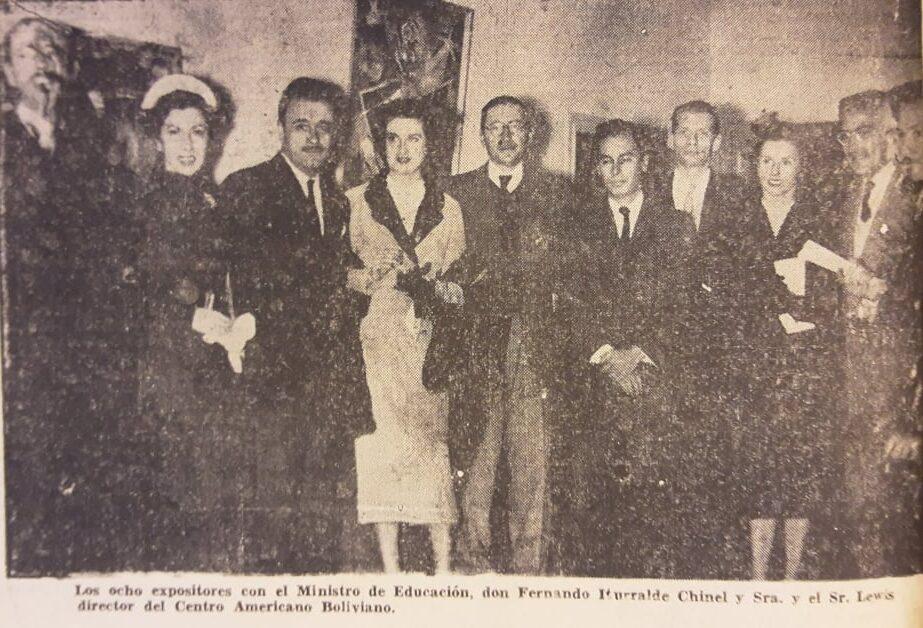 Artistas bolivianos 1953
