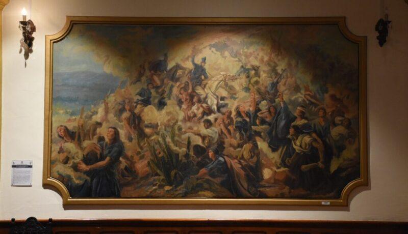Batalla de la Coronilla Arturo Reque